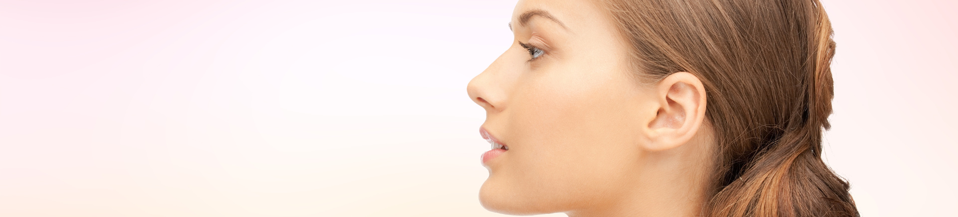 woman after botox treatment